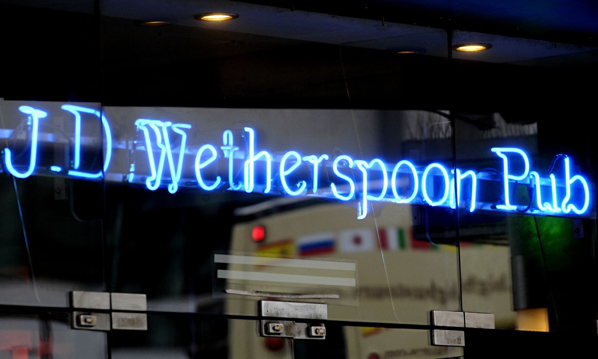 JD Wetherspoon pub sign 009 Cyber Thieves Stole A Huge Database Of Wetherspoon Customer Details