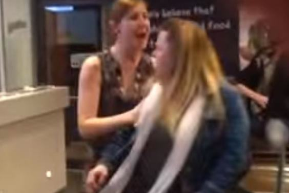 KFC2 Shocking Video Of Angry Woman Unleashing Racist Rant At KFC Goes Viral