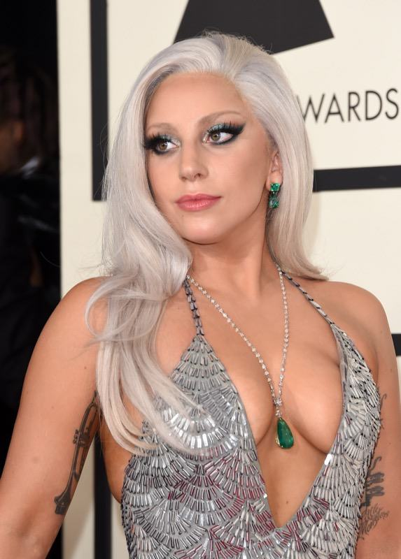 Lady Gaga arrives at 2015 Grammy Awards 2 Seven Celebrities You Probably Didnt Know Battled Drug And Alcohol Addictions