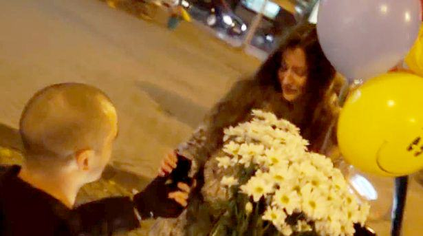 PAY A group of tough Russian riot 1 1 Police Stage Terrorist Attack For Weirdest Wedding Proposal Ever
