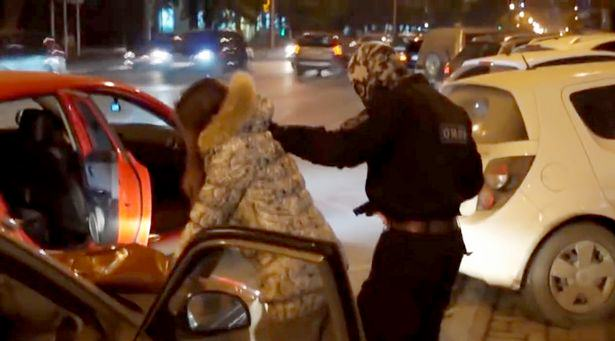 PAY A group of tough Russian riot 2 1 Police Stage Terrorist Attack For Weirdest Wedding Proposal Ever