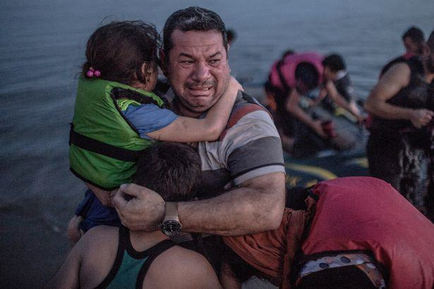 Syrian Refugee Swims For Seven Hours To Start New Life In Europe PAY Syrian Refugee 1