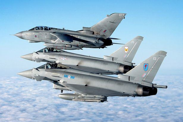 RAF JetsRAF Jets British Isis Fighter Killed In Syria Was Planning Paris Style Attack In London