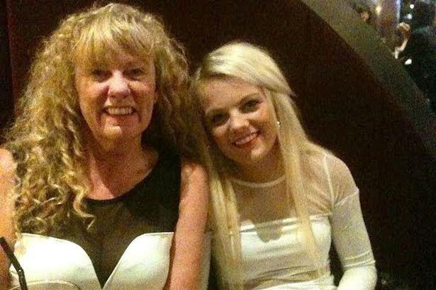 Tragic Disney Dancer Died Not Knowing Her Dream Had Been Fulfilled Sandra Gibson with daughter Karen