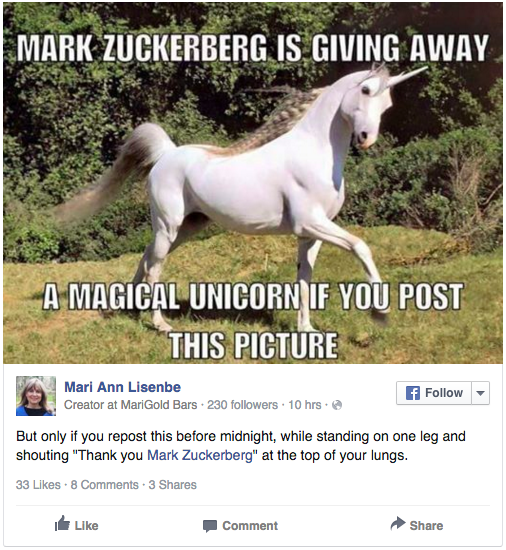 Screen Shot 2015 12 29 at 11.09.11 Thousands Of Facebook Users Thought Mark Zuckerberg Was Going To Make Them Rich