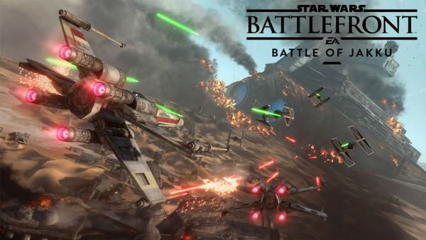 Star Wars Battlefront Battle of Jakku 600x338 Battlefronts Battle Of Jakku Gameplay Trailer Released As DLC Goes Live
