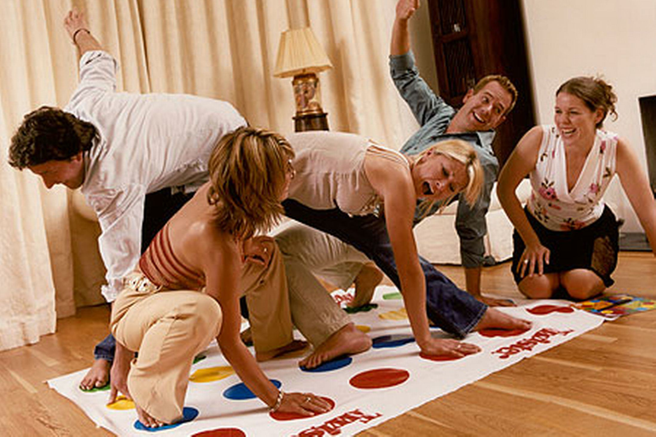 Five Things To Cheer You Up On The Years Saddest Day adults playing twister pic getty images 585390329