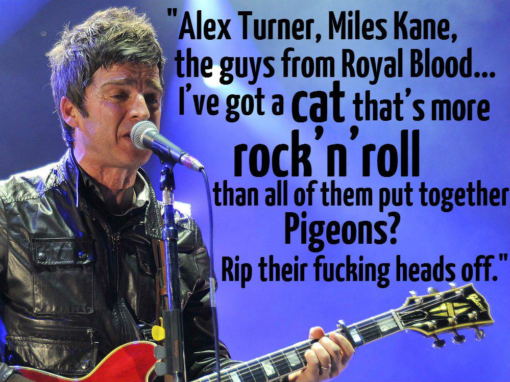 alex turner These Brilliant Quotes Prove Noel Gallagher Is The Funniest Rock Star Alive