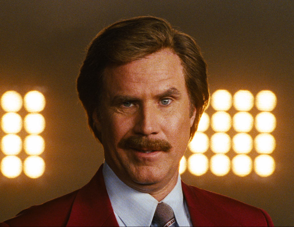 Johnny Depp Named The Most Overpaid Hollywood Actor Of 2015 anchorman 2 sequel image will ferrell