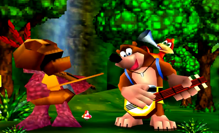 banjo kazooie Rare Release New Footage Of Banjo Kazooies Ill Fated Predecessor