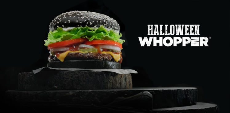 Ten Weird And Wonderful Things We Learned About Food In 2015 black burger king 1