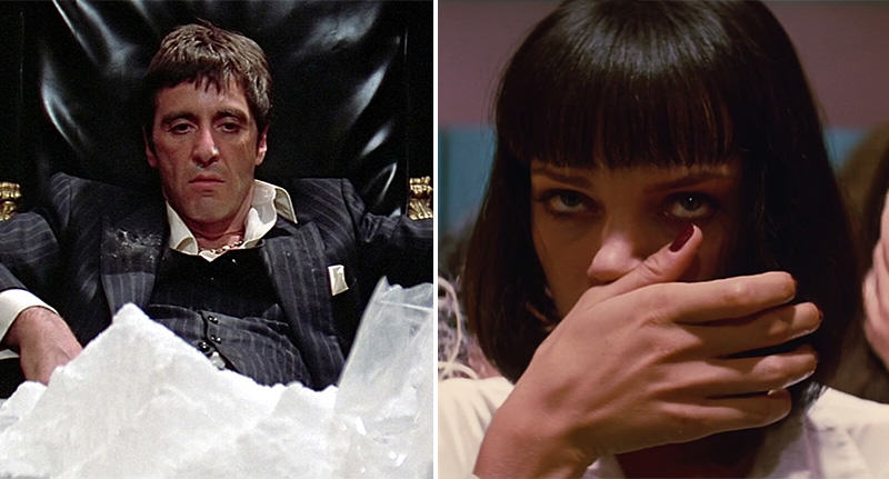 For The Ultimate White Christmas Check Out This Cocaine In Film Supercut cocaine film FB