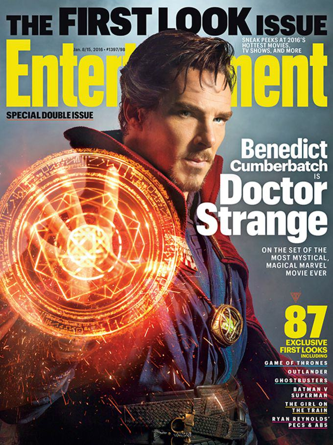 doctor Strange 1 Marvel Reveal First Images Of Benedict Cumberbatch As Doctor Strange
