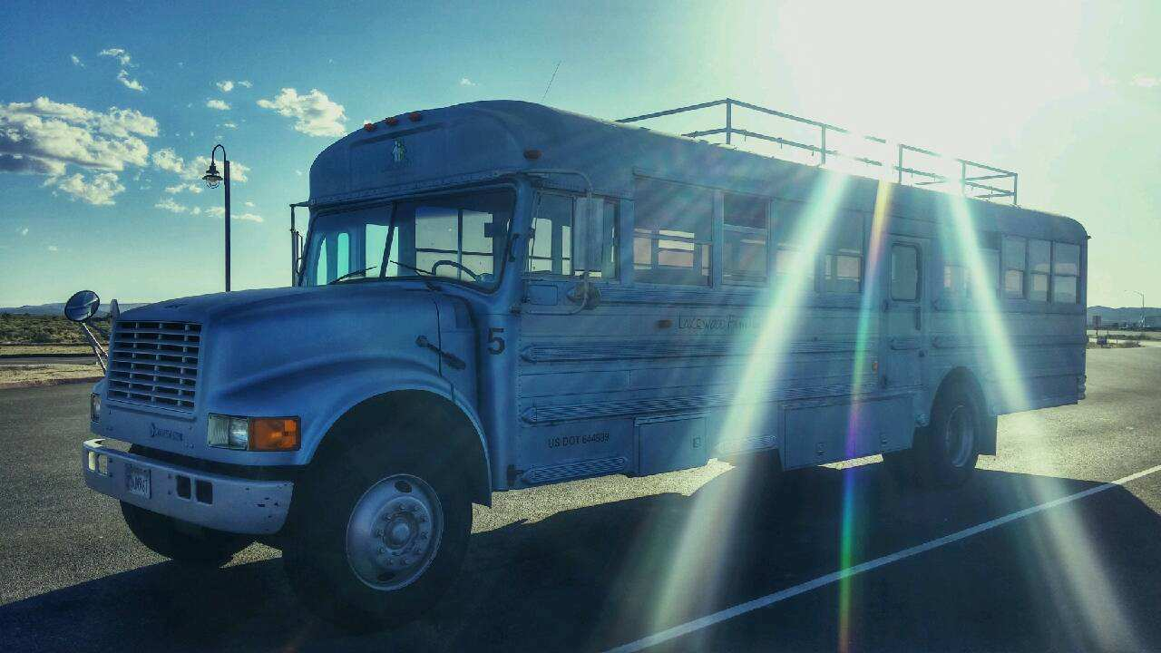 eDy6mBw Dad And Son Convert School Bus Into Home And Go On Epic Road Trip