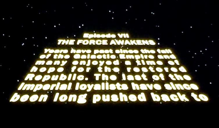 force3 First Two Minutes Of Star Wars: The Force Awakens Has Leaked