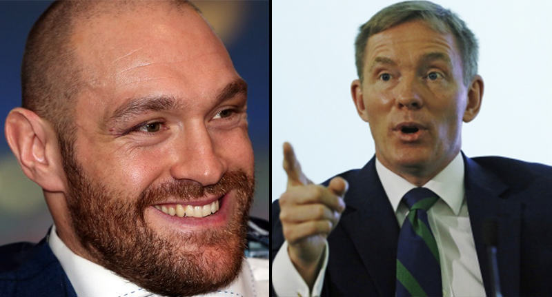 fury mp FB An MP Has Challenged Tyson Fury To A Fight After Homosexuality Comments