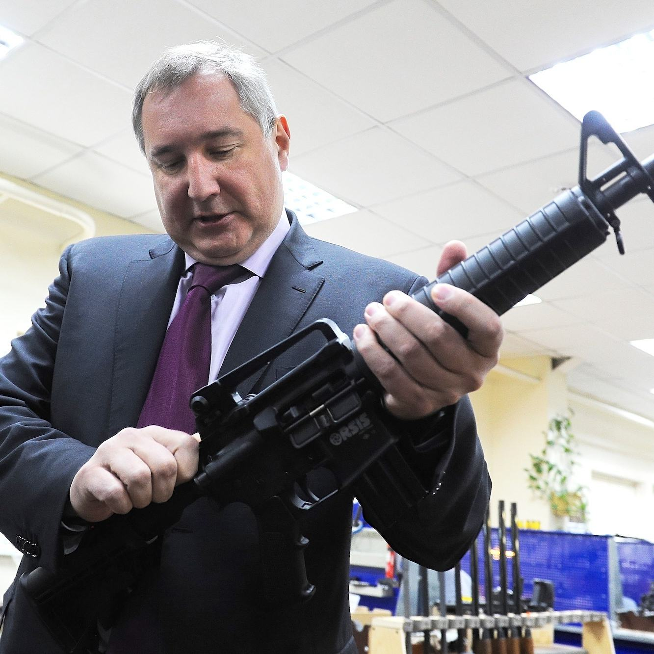 Russian Deputy PM Shoots Himself In The Foot After Tweeting Support For NRA meet the russian whos destroying nasa 1402431258