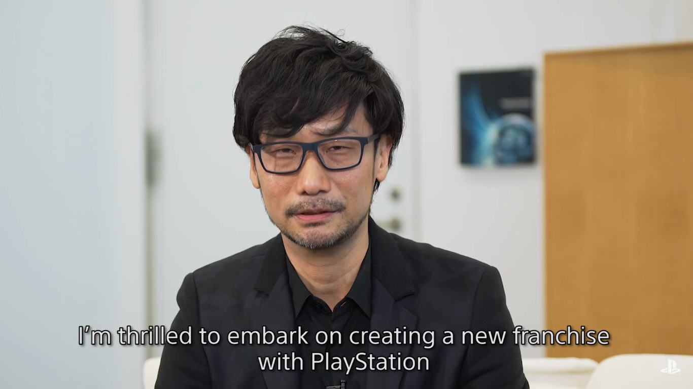 ojima Hideo Kojima Officially Announces New Studio And Sony Partnership