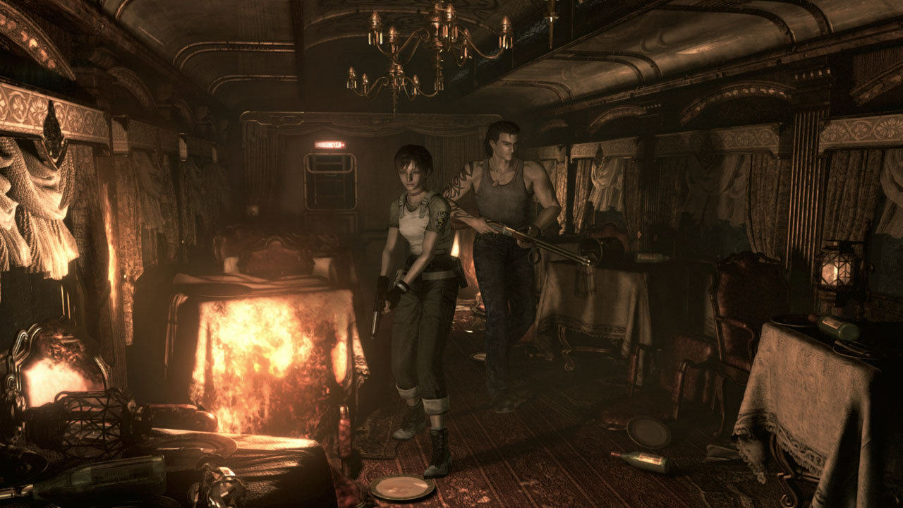 resident evil 0 1 Resident Evil Zero HD Remake Gets Release Date And New Images