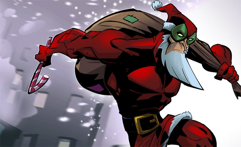 santaman hero Ten Weird Things You Didnt Know About Christmas