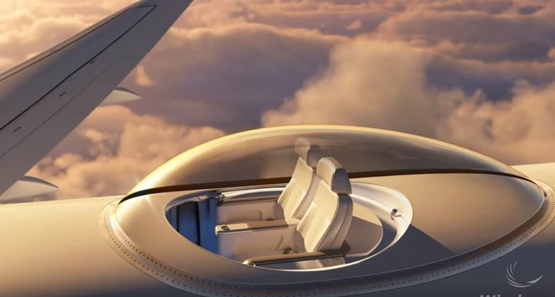 sky deck 5 1 New First Class For The Ultra Rich Looks Amazingly Futuristic