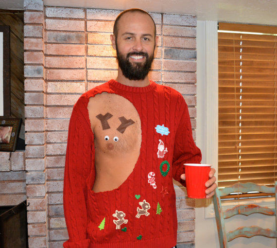sweater 3 Have A Very Nippy Christmas With These Hilarious NSFW Jumpers