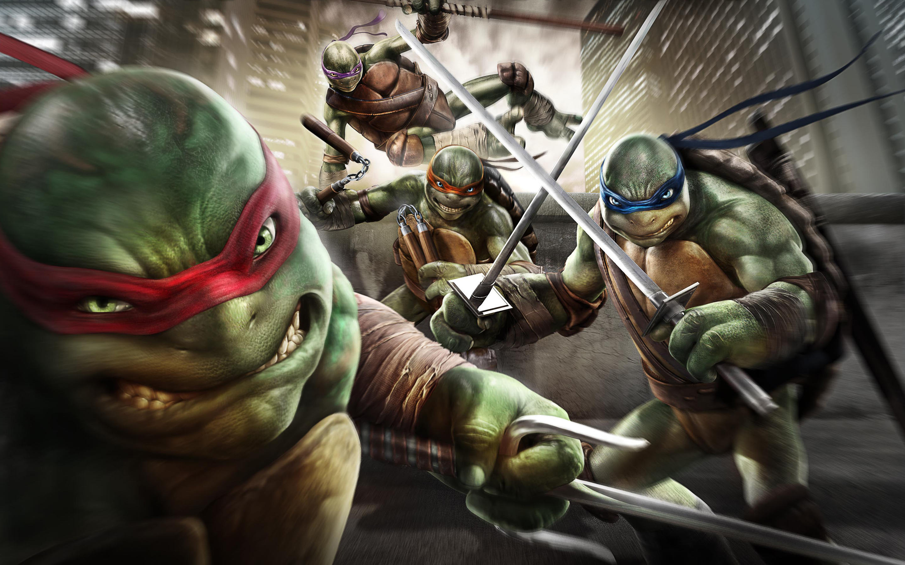 teenage mutant ninja turtles out of the shadows game wide News Of A Teenage Mutant Ninja Turtles Game Has Been Leaked