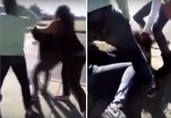 teens attack mom WEB Group Of Teens Brutally Attack Young Mum With Her Baby