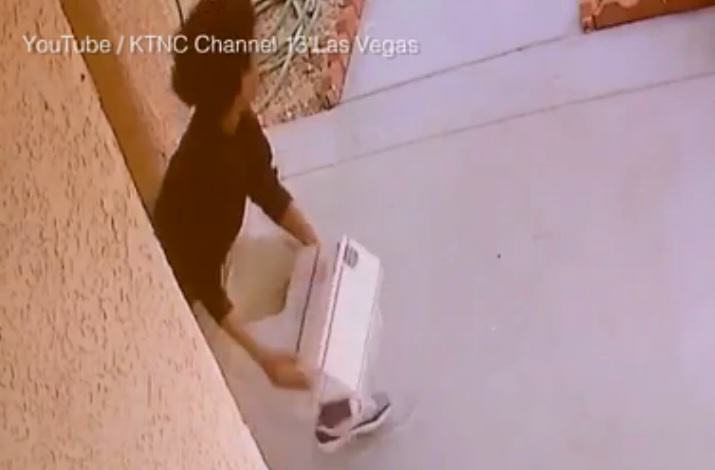 Man Pulls Super Gross Revenge Prank On Package Thieves thief 1