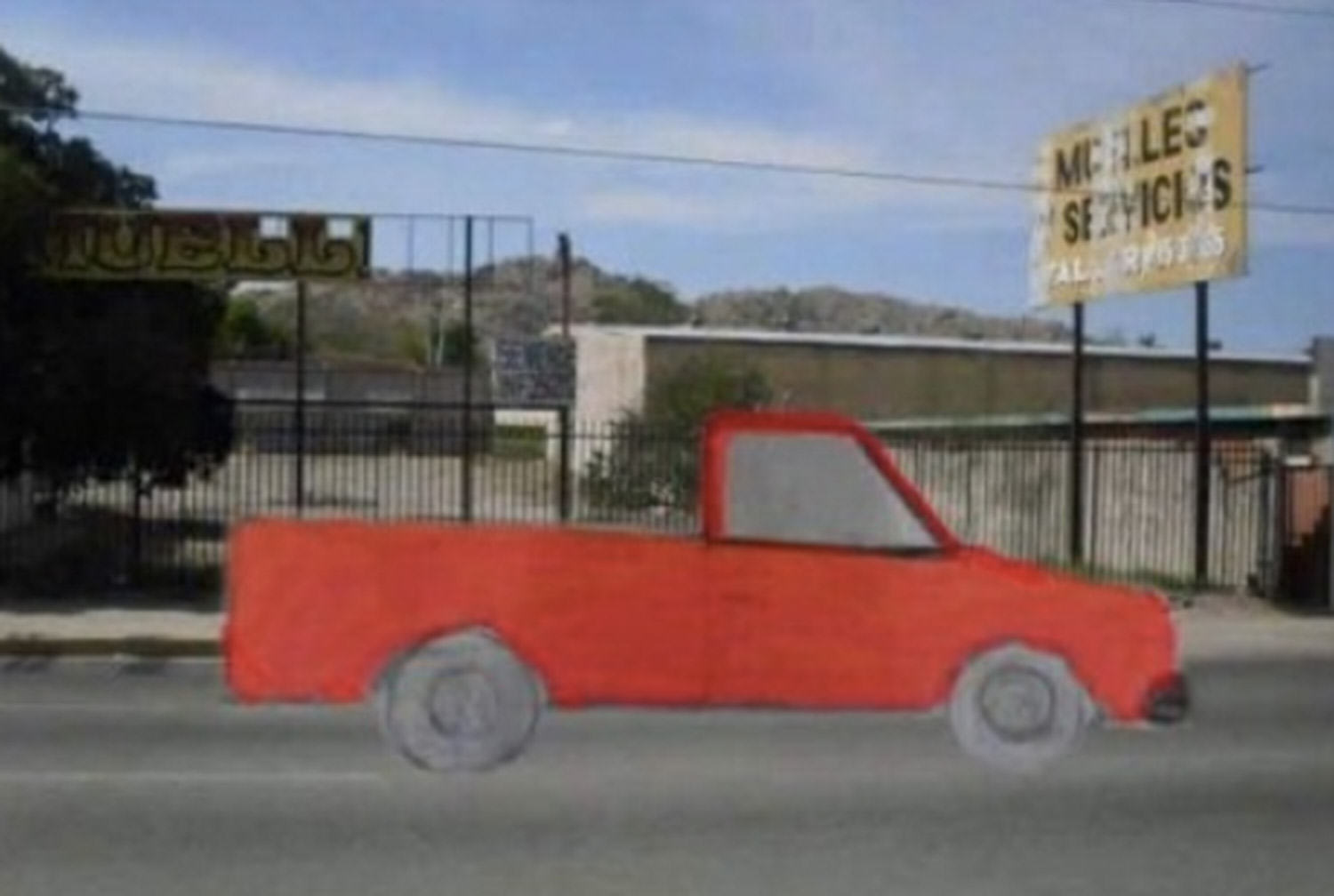 truck funny 4 Woman Drew Stolen Truck And Asked Internet To Find It, Guess What Happened Next