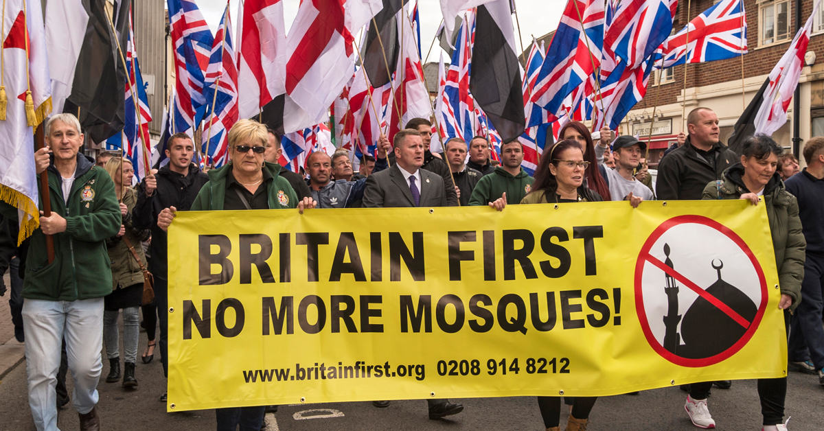 Britain First March Through Luton And It Doesnt Go Well DUDLEY 6 1