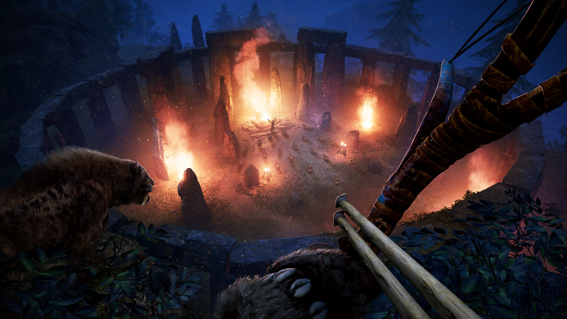 FCP 06 Ritual Attack Screenshots PREVIEW PR 160126 6pm CET 1453716683 An Exclusive Look At Far Cry Primal Ahead Of Release Day