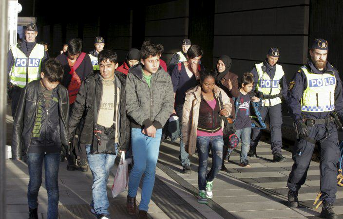 Germany Is Now Seizing Cash And Valuables From Arriving Refugees STIG AKE JONSSONTT NEWS AGENCYREUTERS