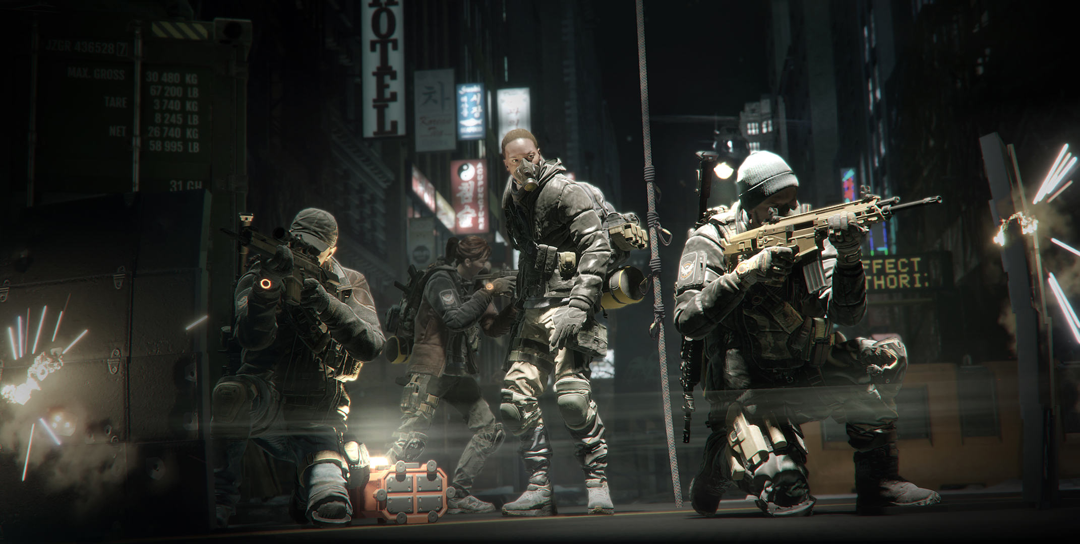 TCTD 1601 web screenshot team formation We Had An Exclusive Look At The Division Ahead Of Release Day