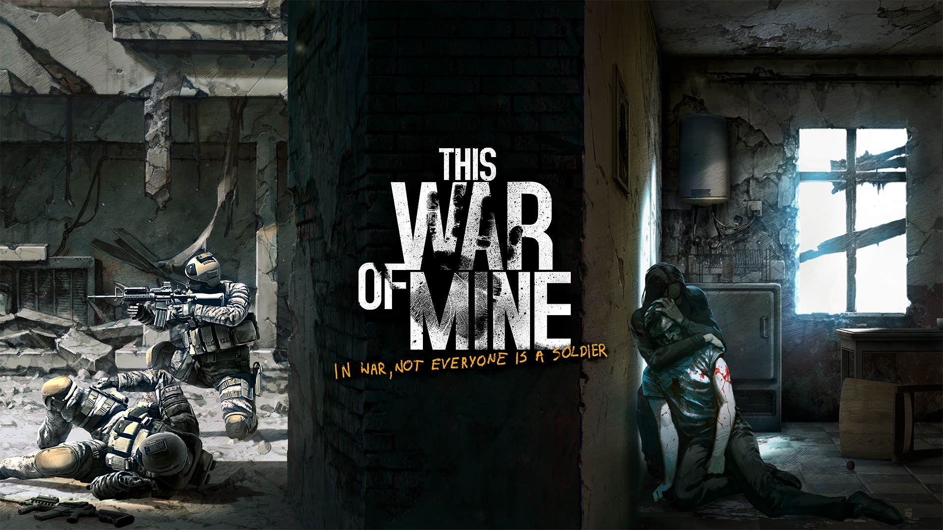 This War Of Mine Deals With The Real Consequences Of War This War of Mine wallpaper 01
