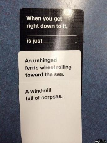 a match made in a factory photo u1 Are These The Most Offensive Cards Against Humanity Answers Possible?