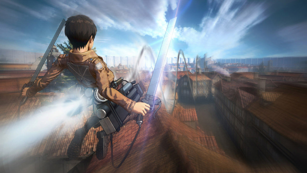 attack on titan 1 New Attack On Titan Trailer Showcases A Ton Of Awesome Gameplay