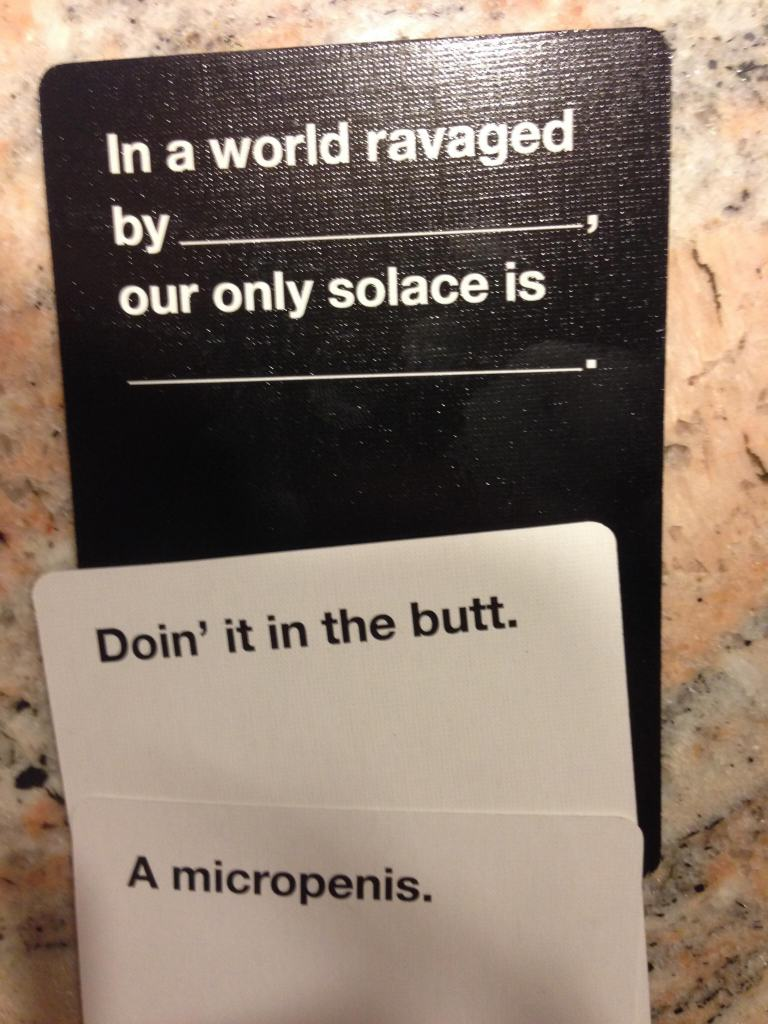 cards 6 Are These The Most Offensive Cards Against Humanity Answers Possible?