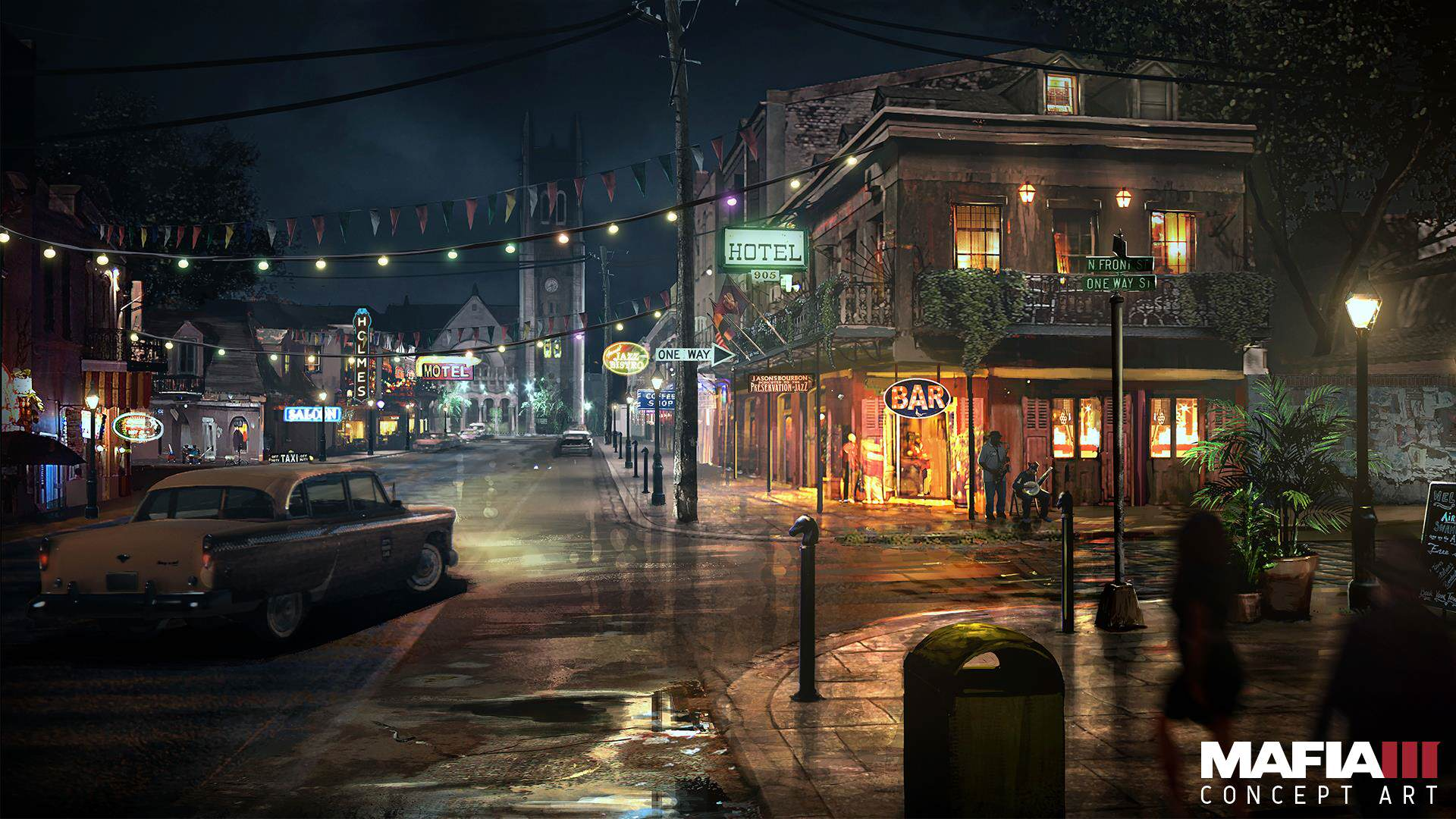 mafia3 french quarter Check Out Every Awesome Piece Of Mafia 3 Concept Art Released