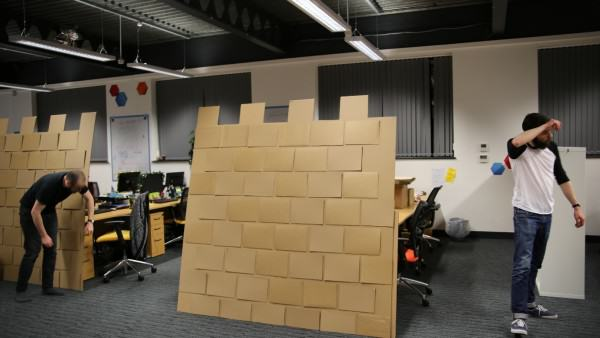 These Guys Took Decorating Their Office To An Incredible Level office fort 10