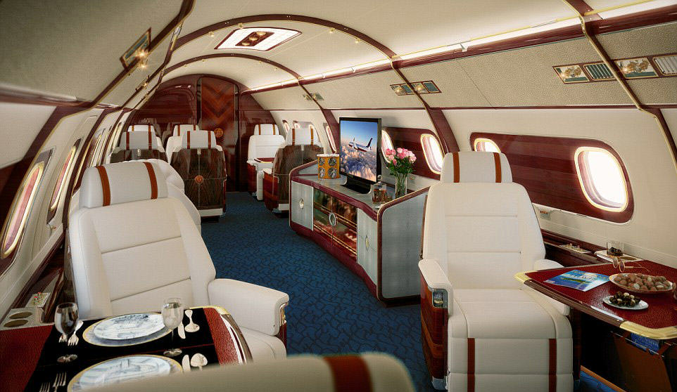 This Plane/Boat Hybrid Luxury Private Jet Is Absolutely Ridiculous plane 9