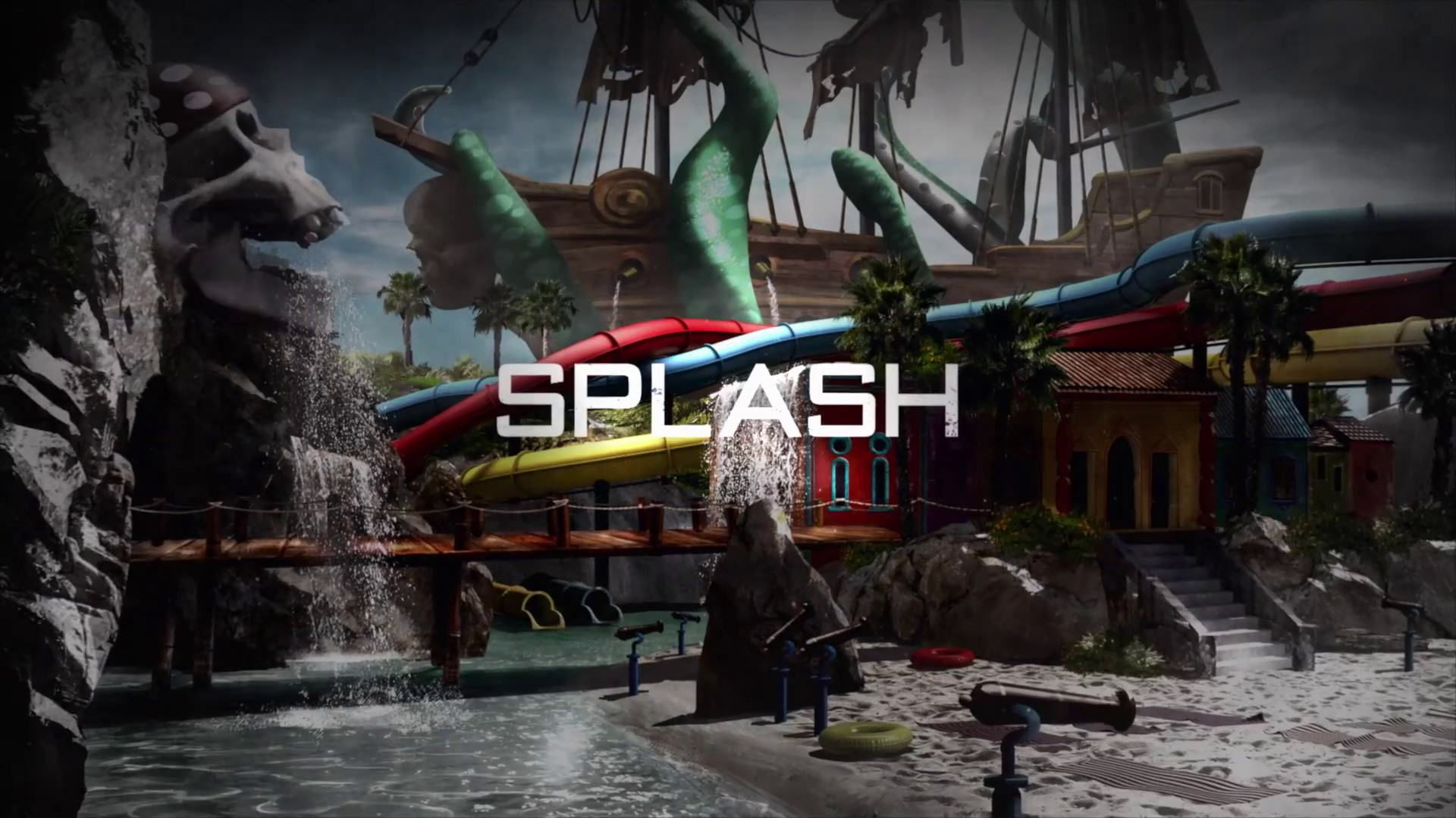 splash Activision Tease New Black Ops 3 DLC Multiplayer Map Skyjacked
