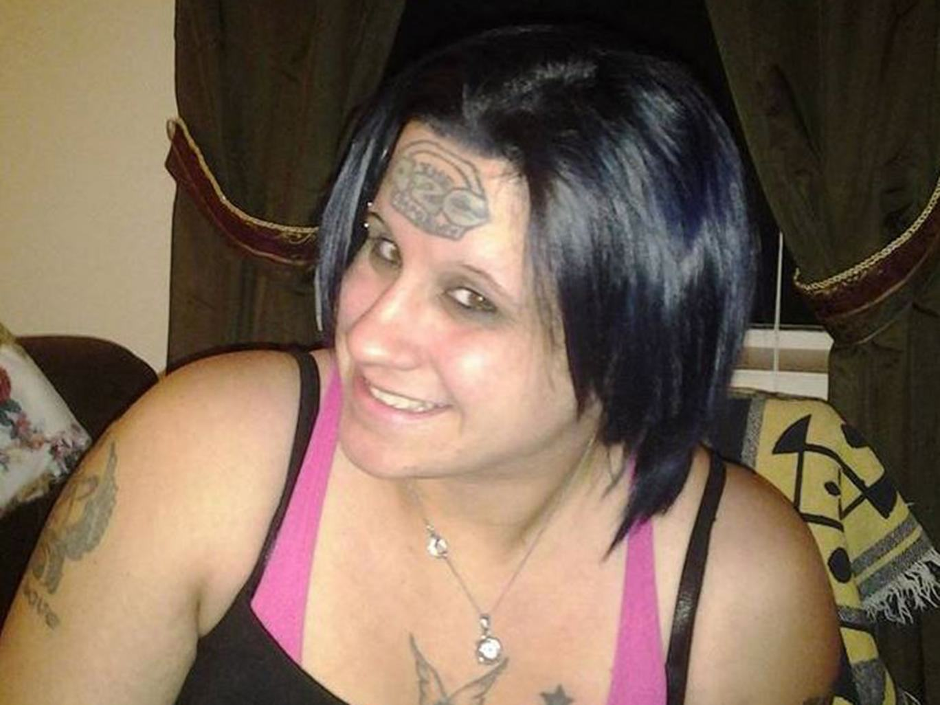 tabitha west crowdfunding tatto Woman Gets Ridiculous Forehead Tattoo, Uses Fundraising Site To Get It Removed