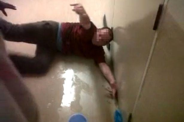 Shocking Footage Shows Prisoner In Agony After Being Force Fed Legal Highs the people 2