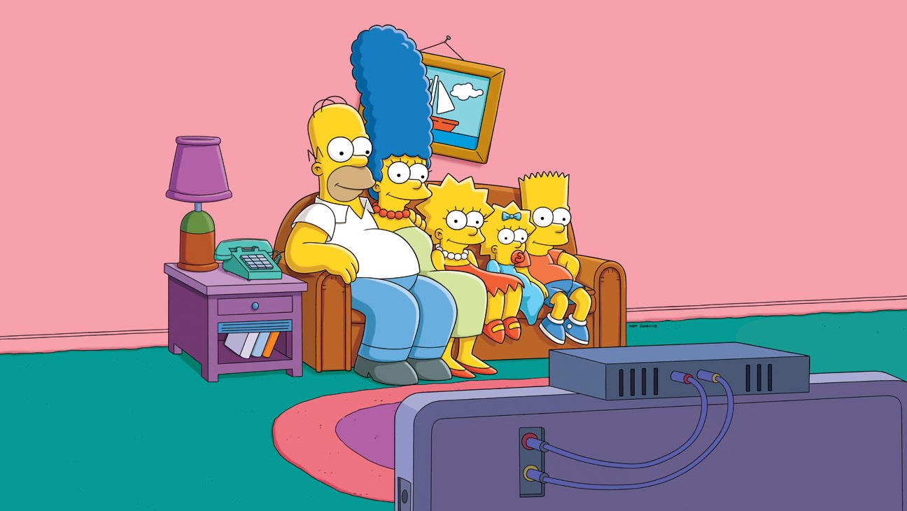 the simpsons couch a l The Simpsons Go Retro In 80s Action Movie Homage For New Couch Gag