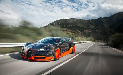 veyron1 The New Bugatti Chiron Can Hit 290 Miles An Hour And It Looks Incredible