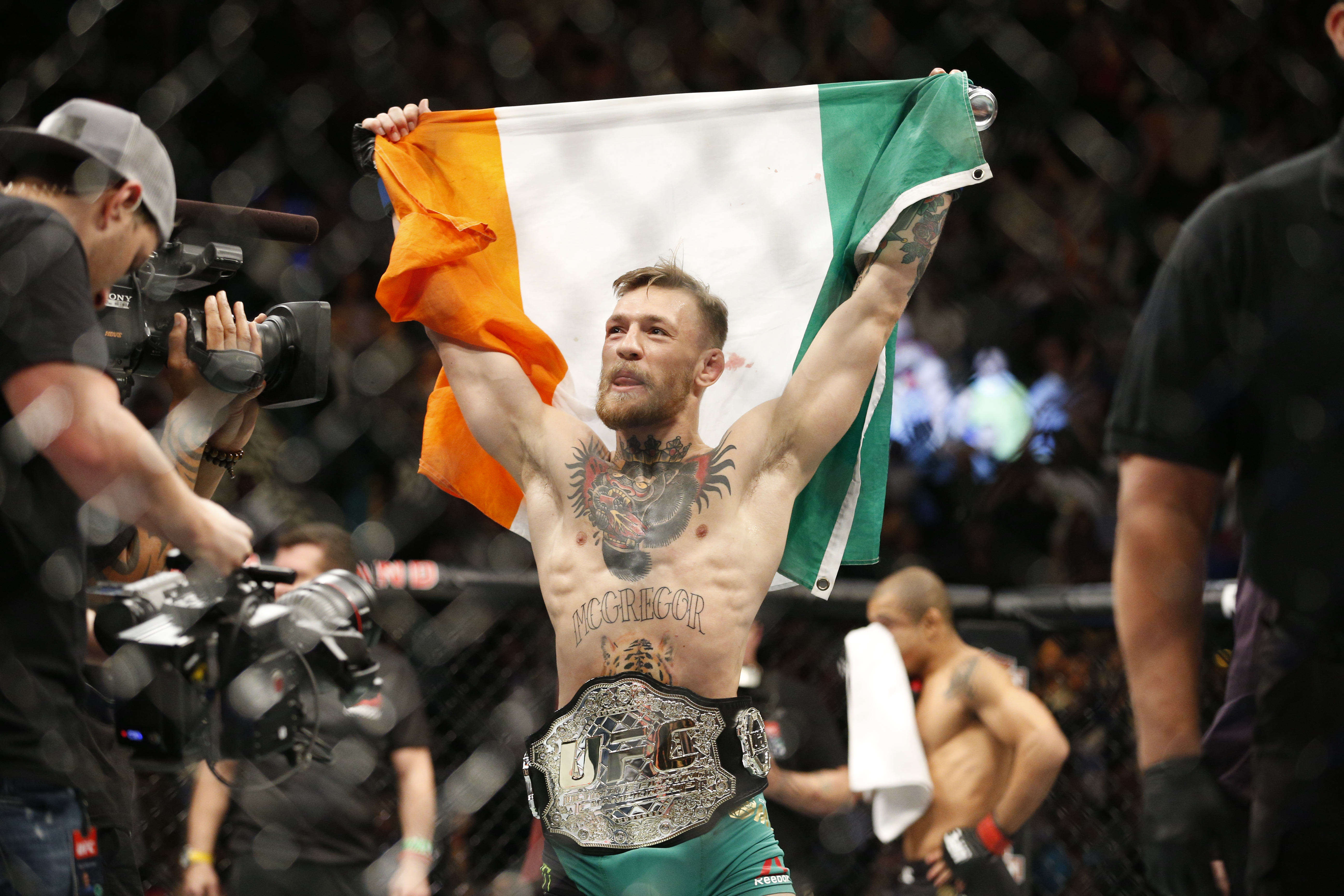 Conor McGregor PA Conor McGregor P*sses Off Everyone In Fighter Of The Year Acceptance Speech