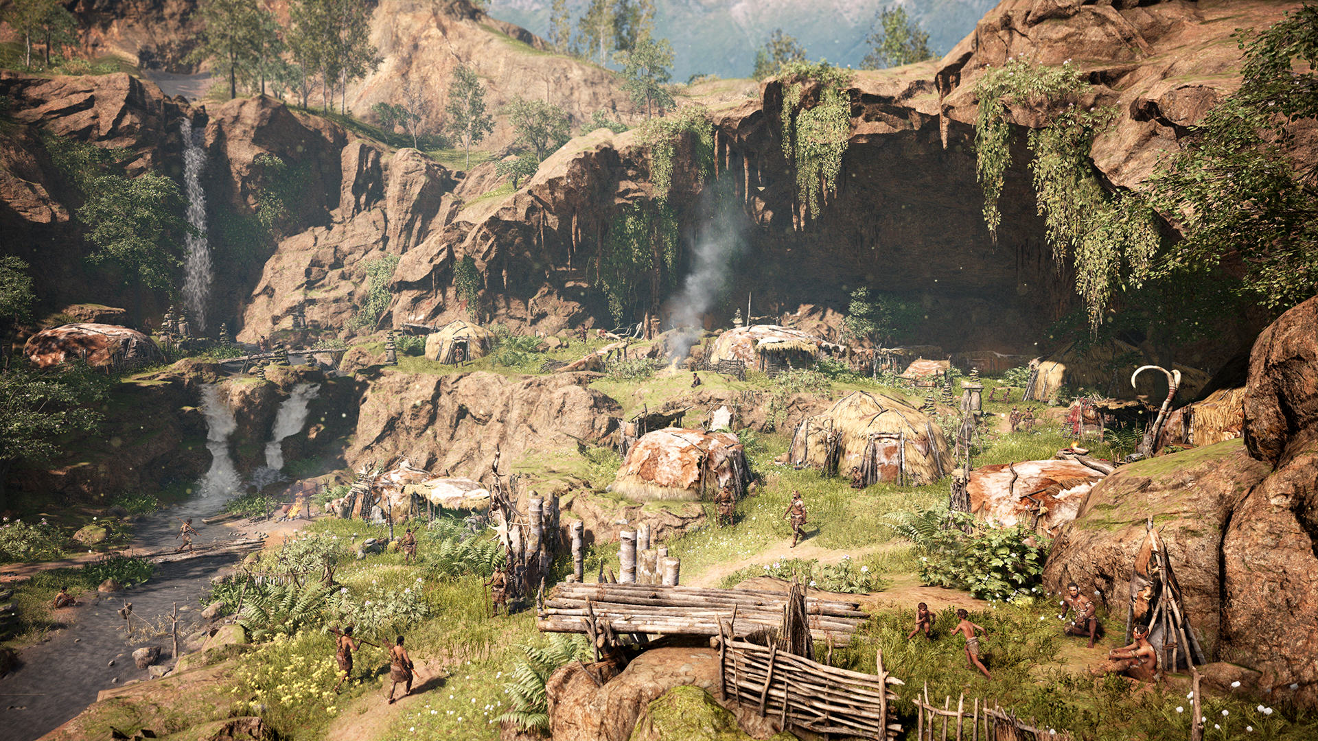 Far Cry Primal Is Shameless Pre Historic Fun, If A Little Shallow FCP 08 Village Complete Screenshots PREVIEW PR 160126 6pm CET 1453716689