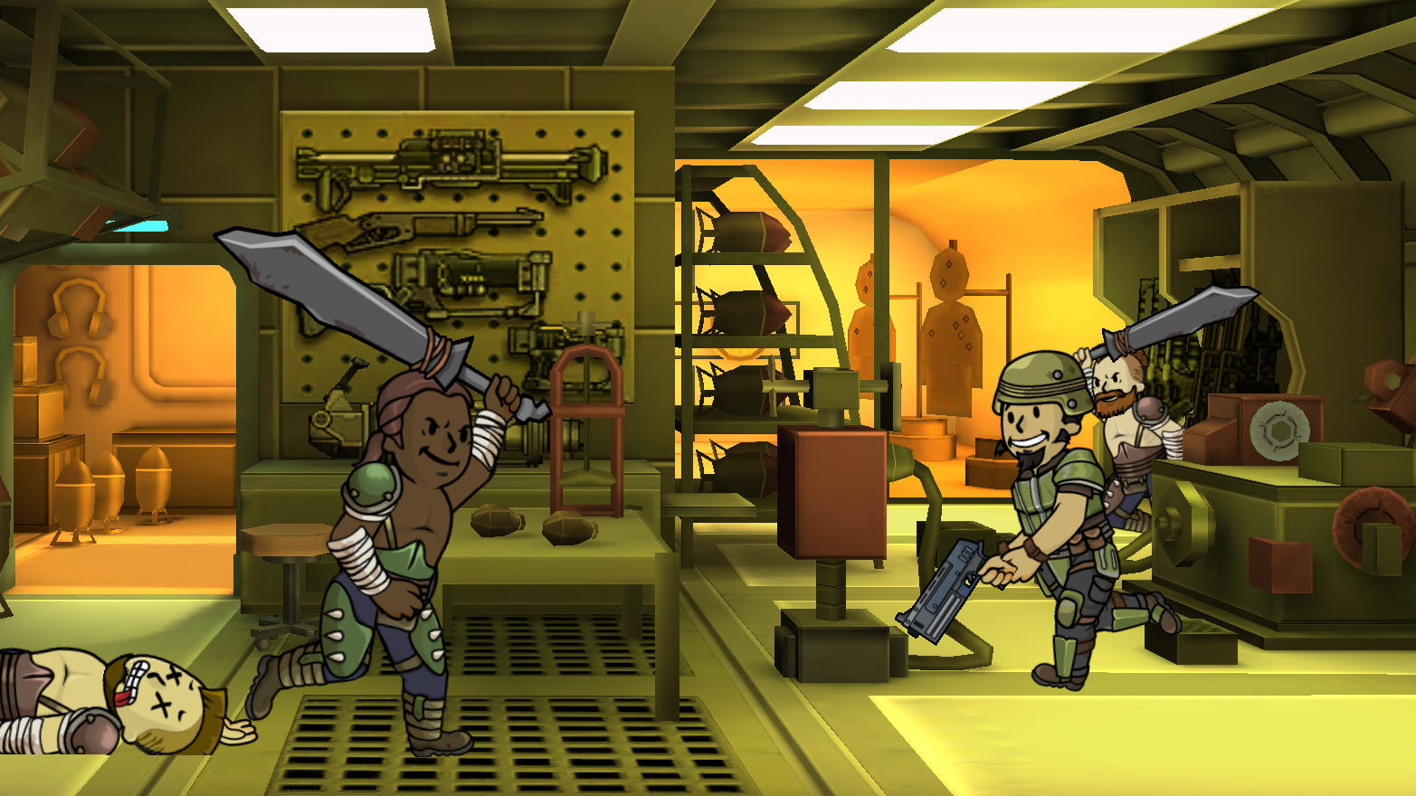FalloutRaiders Bethesda Confirm More Mobile Games After Success Of Fallout Shelter