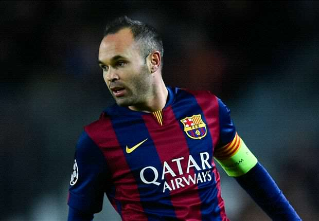 Iniesta Five Barcelona Players Who Arsenal Must Keep Quiet